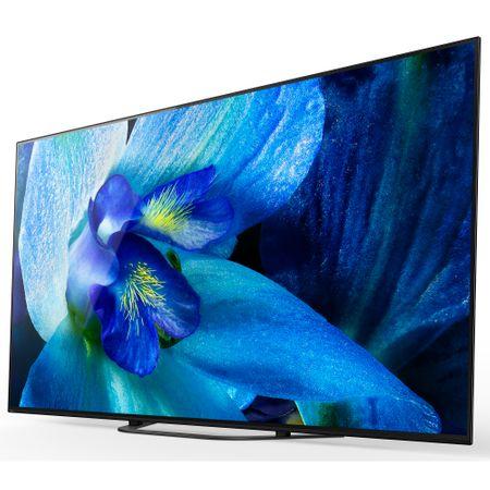 Televizorul OLED Sony BRAVIA 138.8 cm 55AG8 4K Ultra HD este excelent pentru filme de pe Netflix vazute acasa!