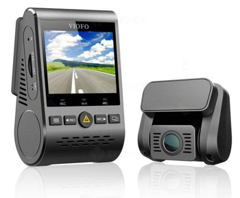 VIOFO A129 DUO-G este o camera video pentru masina cu pret foarte bun, incluzand in specificatii mod de noapte, unghi larg de filmare de pana la 140 grade si ecran de 2 inch.