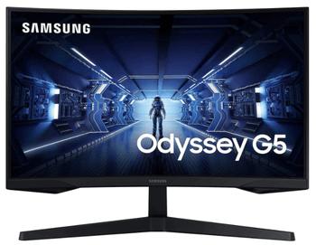 Monitorul Curbat de Gaming LED VA Samsung LC27G55TQWRXEN este din ce in ce mai cautat pe site-uri precum Emag sau Pc Garage, datorita review-urilor extrem de bune de pe internet si a pretului mic!