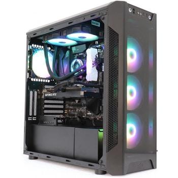 Acest desktop de gaming PC Arkay are 1TB de memorie pe SSD, placa video RTX 3060 si iluminare RGB, care va face diferenta pe timp de noapte. Este foarte recomandat in reivew-uri!