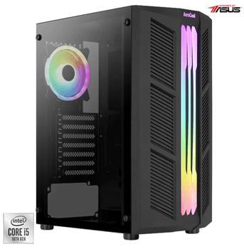 Un Desktop de Gaming PC Serioux Powered by ASUS are procesor Intel i5 din cea mai noua generatie, SSD care iti permite sa stochezi orice, iar conform parerilor de pe internet, placa video nVidia este exact ce trebuie!